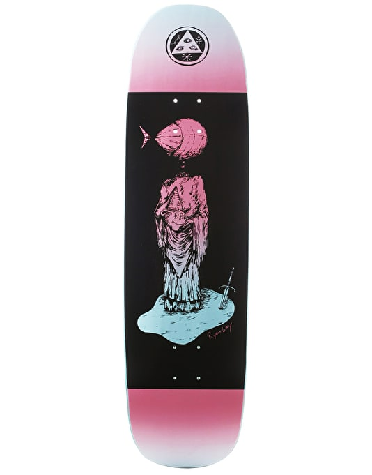 """Welcome Lay Light Headed on Stoncipher Skateboard Deck - 8.6"""""""