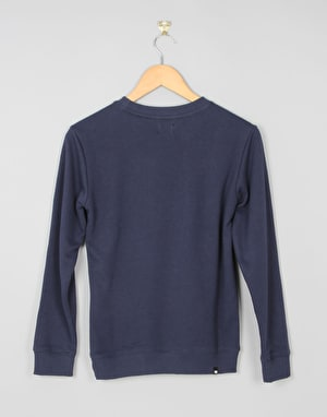DC Creed Crew Boys Sweatshirt - Blue Iris