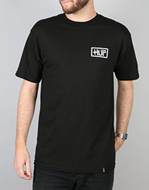 HUF x Skate NYC Burst T-Shirt - Black