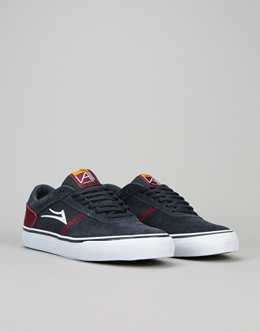 Lakai Vincent 2 Skate Shoes - Navy Suede