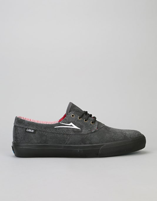 New Lakai x Sanrio Camby R1 Exclusive Black/Black Suede Skate Shoes for Men Online Sale
