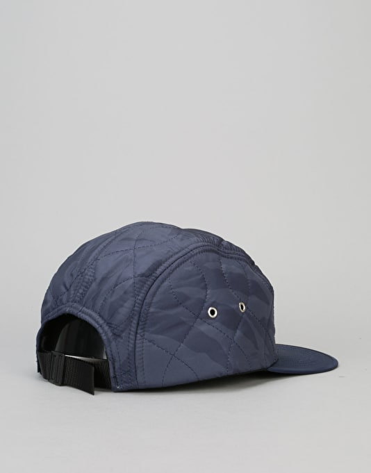 Acapulco Gold Outland Quilted Sport 5 Panel Cap - Navy Camo