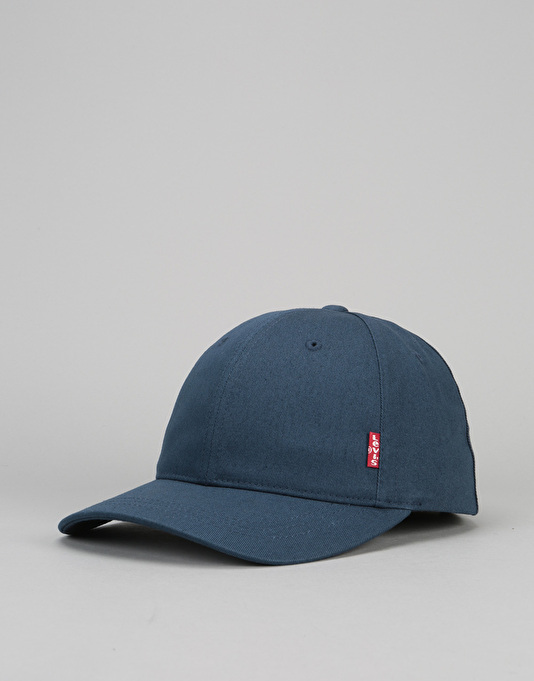 6672cd027c3 Levis Classic Twill Red Tab Baseball Cap - Navy Blue