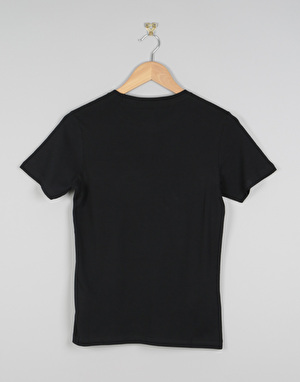 Element Vertical Boys T-Shirt - Flint Black