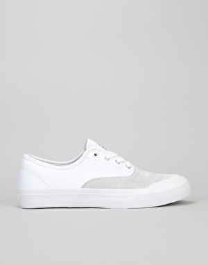 HUF Cromer Pro Skate Shoes - White/Light Grey