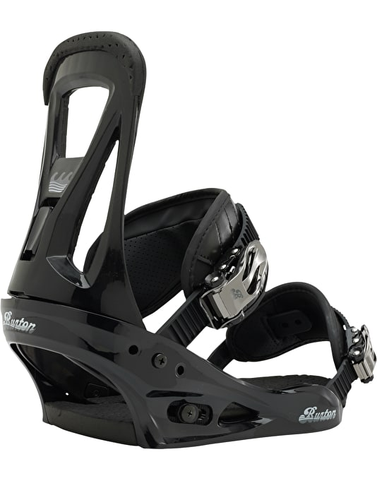 Burton Freestyle 2017 Snowboard Bindings - Black
