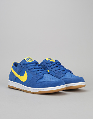 Nike SB Dunk Low Skate Shoes - Varsity Royal/Lightning-White