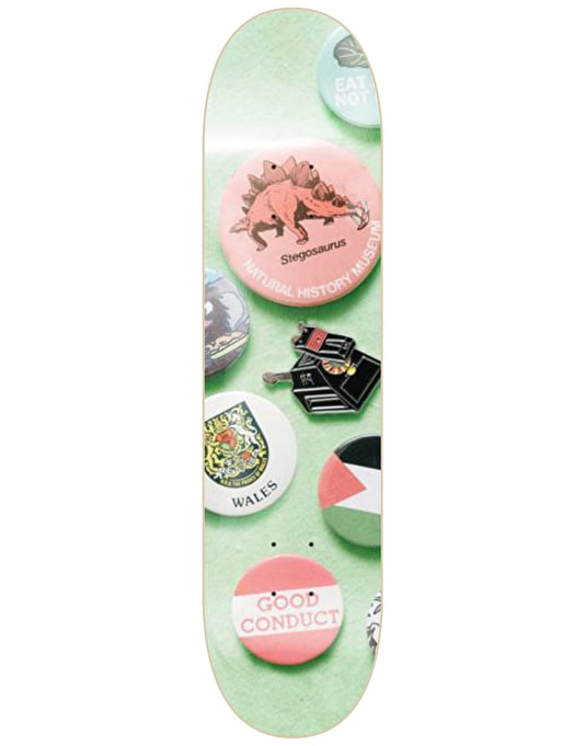 Isle Jones Enamel Series Skateboard Deck - 8.25""