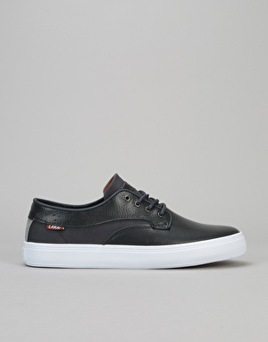 Lakai Riley Hawk Skate Shoes - Midnight Leather