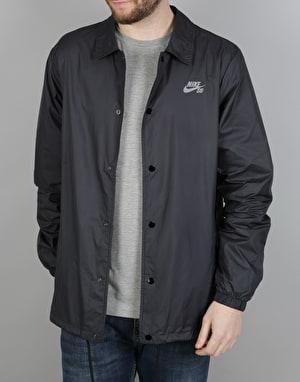 Nike SB Shield Coaches Jacket - Black/Cool Grey