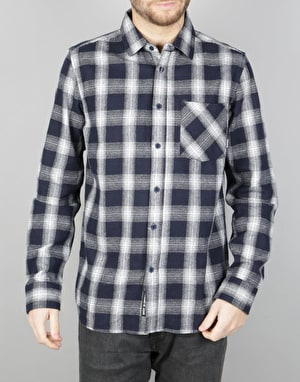 Emerica Strummer Flannel L/S Shirt - Navy