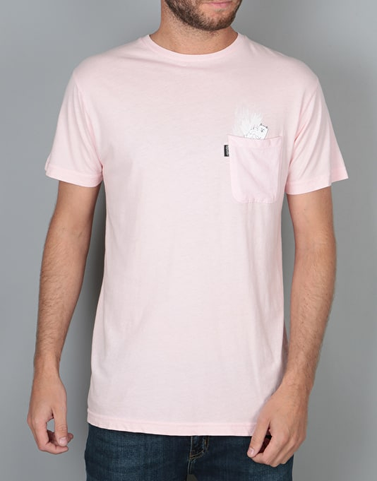 RIPNDIP A Nermal Splash Pocket T-Shirt - Pink