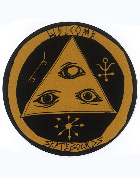 "Welcome 3"" Talisman Sticker"