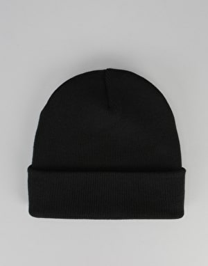 Route One Cuff Beanie - Black