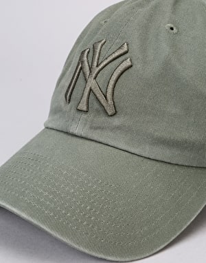 '47 Brand MLB New York Yankees Clean Up Cap - Vintage Moss
