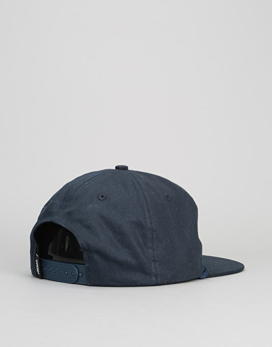 Anti Hero Reverse Patch Snapback Cap - Navy