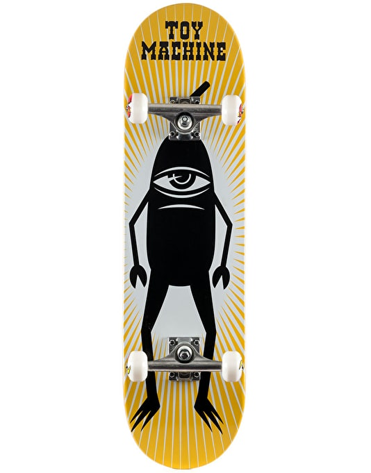 """Toy Machine Black Sect Complete Skateboard - 8.25"""""""