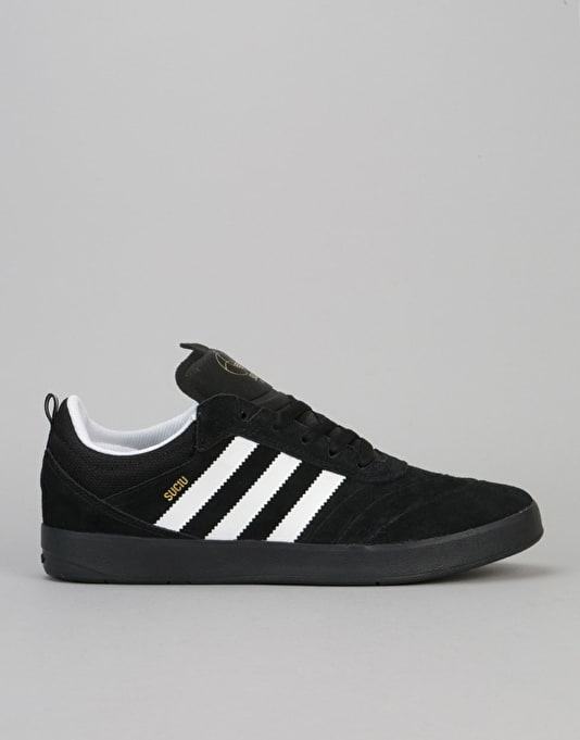 Adidas Suciu ADV Skate Shoes  Core BlackFtwr WhiteGold Met