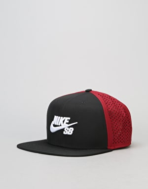 Nike SB Performance Trucker Cap - Black/Team Red/Black/White