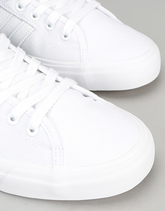 Adidas Matchcourt High Rx Skate Shoes - White/White/White