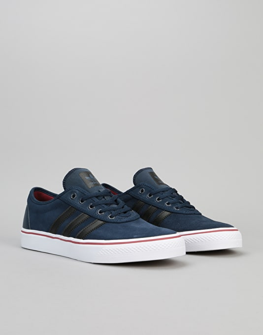 Adidas Adi-Ease Skate Shoes - Collegiate Navy/Core Black/White