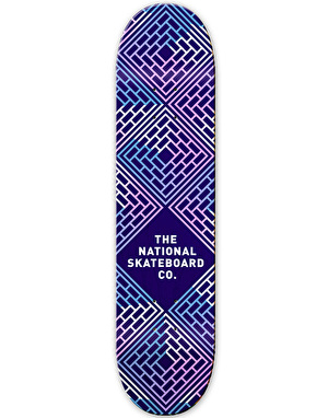 The National Skateboard Co. Legend Team Deck - 8.5