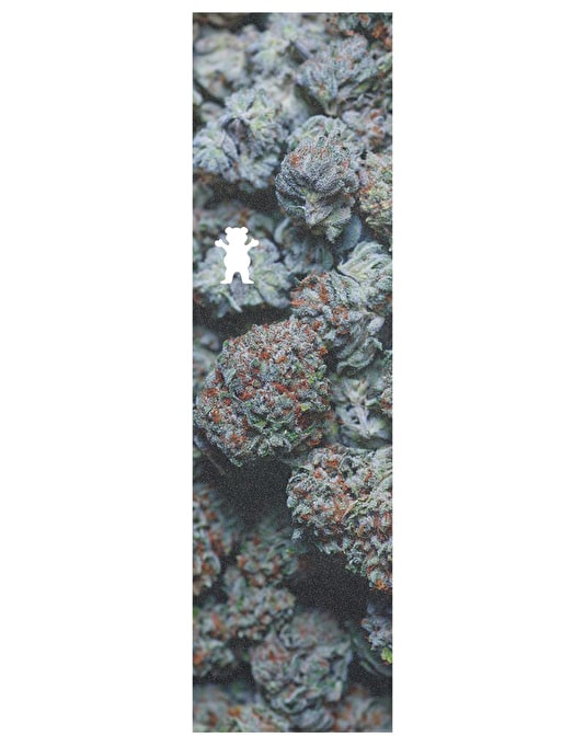 """Grizzly Kush (Indica) Die Cut Bear 9"""" Grip Tape Sheet"""
