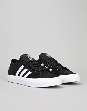 Adidas Matchcourt RX Skate Shoes - Core Black/White/Core Black
