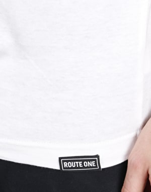 Route One Essentials T-Shirt - White