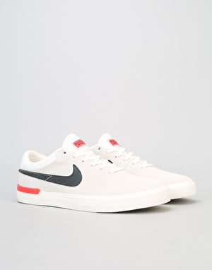 Nike SB Koston Hypervulc Skate Shoes - Ivory/Black-Ember Glow
