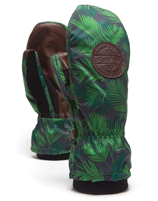 Howl Indy 'Airblaster' 2017 Snowboard Mitts - Green