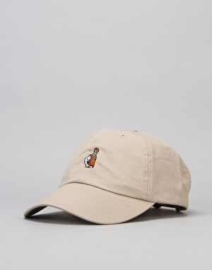 40's & Shorties Dad Hat Unstructured Strapback Cap - Khaki