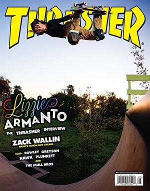 Thrasher Magazine Issue 442 May 2017