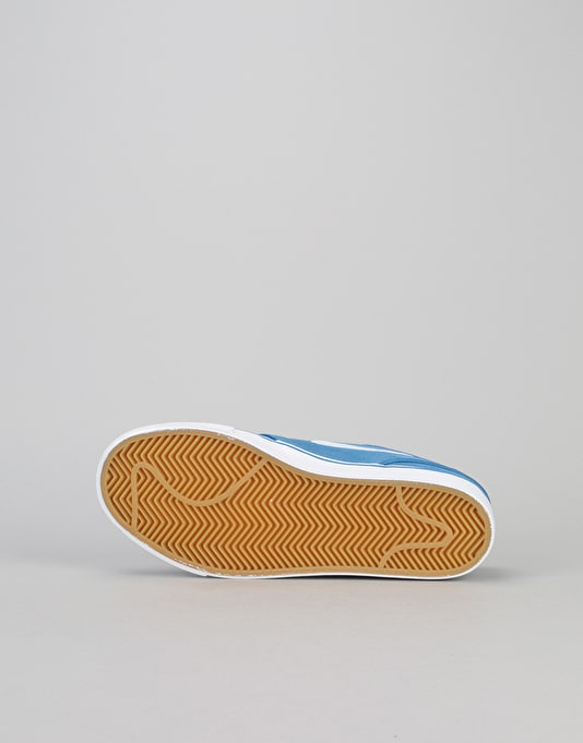 Nike SB Stefan Janoski Boys Skate Shoes - Star Blue/White/Gum