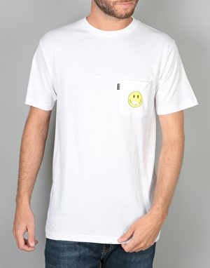 RIPNDIP Everything'll Be Ok  Pocket T-Shirt - White