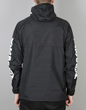 HUF x Thrasher TDS Packable Anorak - Black