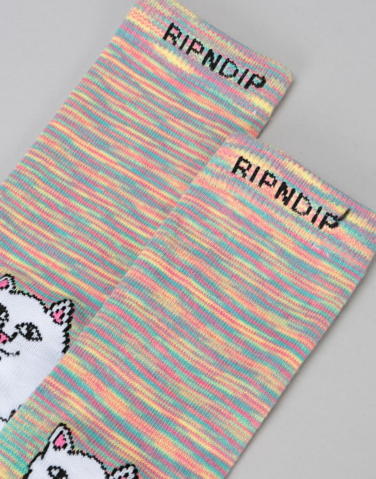 RIPNDIP Lord Nermal Socks - Neon