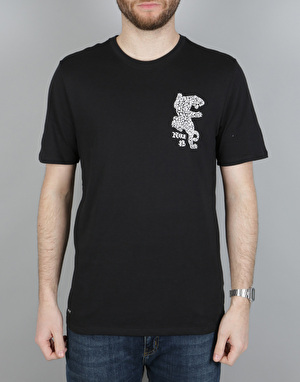 Nike SB DF Jag Dry T-Shirt - Black/White