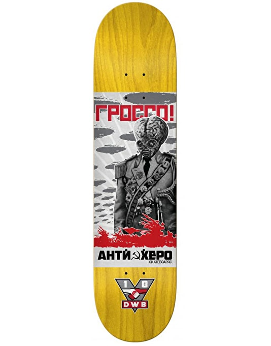 Anti Hero Grosso Propaganda Pro Deck - 8.5""