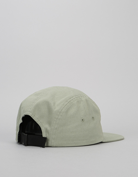 HUF Bar Logo Volley 5 Panel Cap - Sage