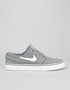 Nike SB Zoom Stefan Janoski Skate Shoes - Cool Grey/White-Black