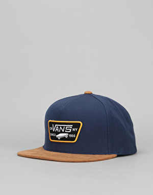 Vans Full Patch Snapback Cap - Dress Blue/Khaki