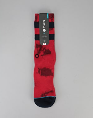 Stance Lennon Athletic Crew Socks - Red