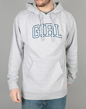Girl Arch Pullover Hoodie - Heather Grey