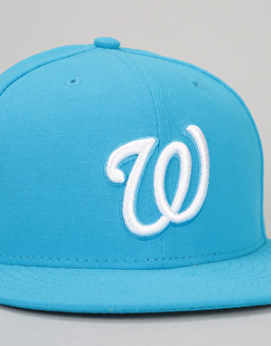 New Era 9Fifty MLB Washington Nationals League Snapback Cap - Blue