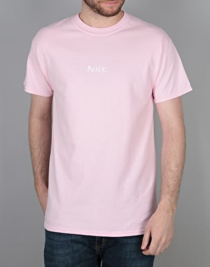 Route One Pussy T-Shirt - Light Pink