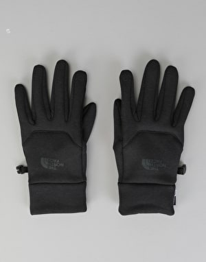 The North Face Etip Hardface Gloves - TNF Black Heather Print