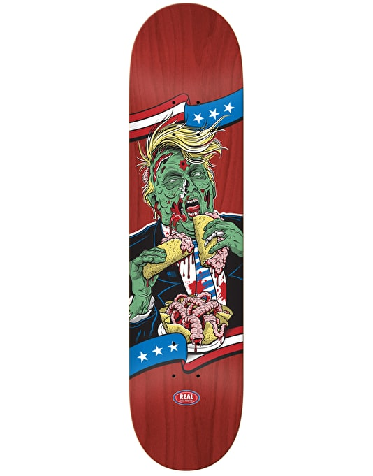 Real Trump (Republicans)The Running Dead Skateboard Deck - 8.25""