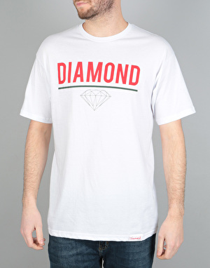 Diamond Supply Co. Strike T-Shirt - White