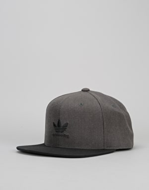 Adidas Basics Snapback Cap - Dark Grey Heather
